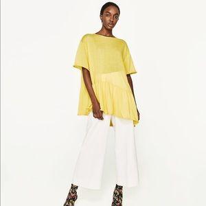 Zara asymmetric tshirt